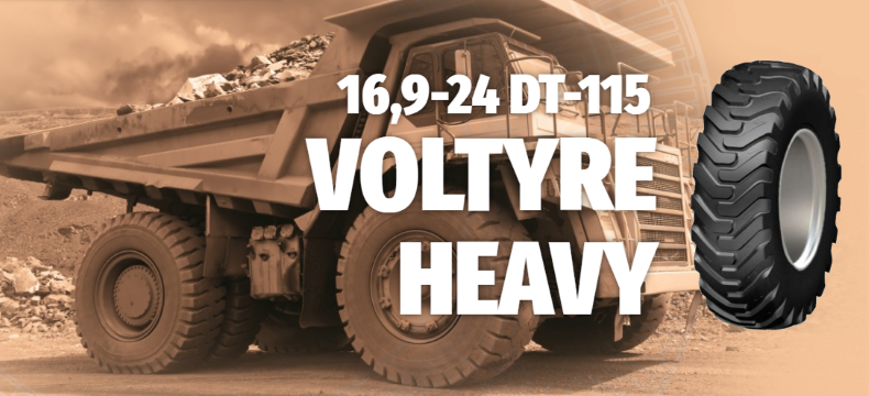 16,9-24 DT-115 VOLTYRE HEAVY